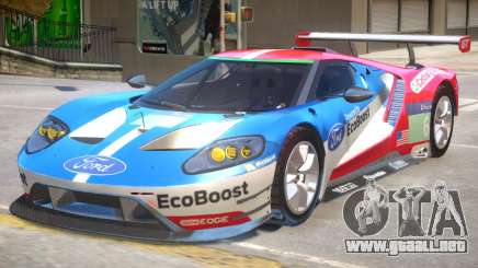 Ford GT Eco Boost para GTA 4