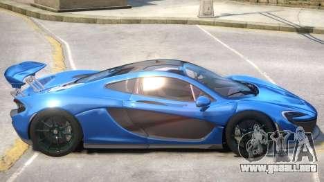 McLaren P1 Upd para GTA 4