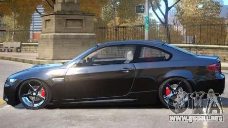 BMW M3 E92 V1 para GTA 4