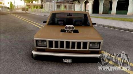 Bobcat Changer para GTA San Andreas