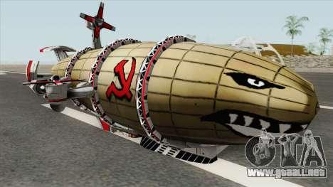 Kirov Airship (Red Alert 3) para GTA San Andreas