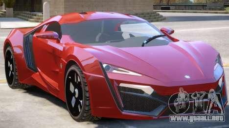 Lykan HyperSport Upd para GTA 4