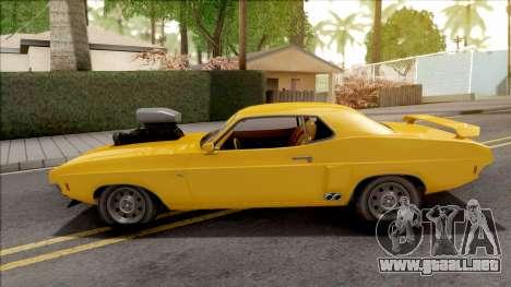 GTA V Bravado Gauntlet Classic IVF para GTA San Andreas