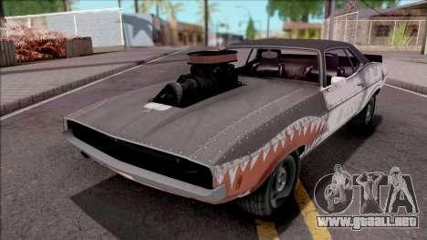 GTA V Bravado Gauntlet Classic para GTA San Andreas