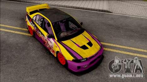 Mitsubishi Lancer Evolution VI GSR 1999 Itasha para GTA San Andreas