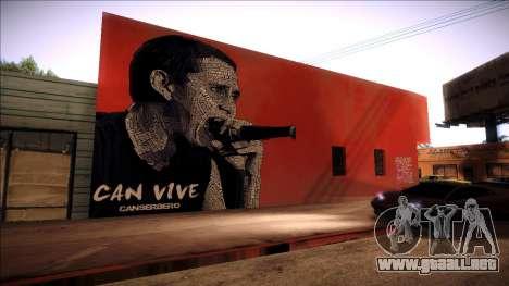 Cancerbero wall made by his quotes para GTA San Andreas
