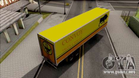 Trailer Livingston Truck Convoy para GTA San Andreas