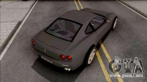 Ferrari 612 Scaglietti para GTA San Andreas