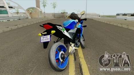 Honda CBR 150R para GTA San Andreas
