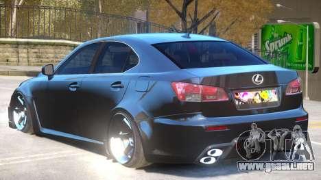 Lexus IS Improved para GTA 4