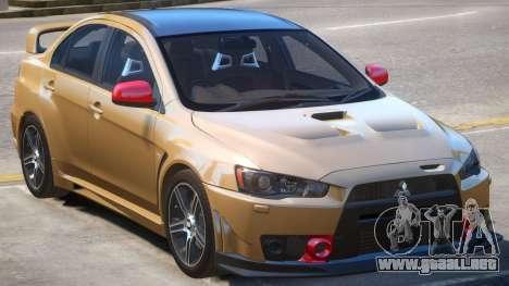 Mitsubishi Lancer PJ5 para GTA 4