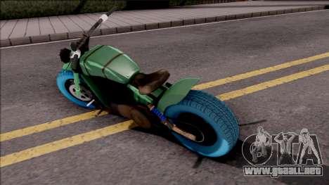 GTA Online Arena Wars Nightmare Deathbike Stock para GTA San Andreas