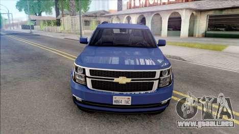 Chevrolet Suburban 2015 LTZ Lowpoly para GTA San Andreas