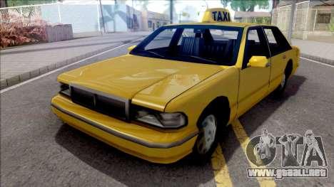 Taxi Cutscene para GTA San Andreas