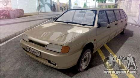ВАЗ 2114 Limusina por Completo CJ Pandilla para GTA San Andreas