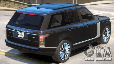 Range Rover Vogue V1.1 para GTA 4