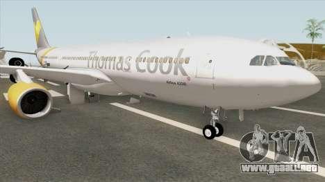 Airbus A330-200 (Thomas Cook Livery) para GTA San Andreas