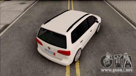 Volkswagen Touran 2010 para GTA San Andreas