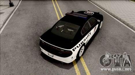 Dodge Charger SRT 2015 Pursuit para GTA San Andreas