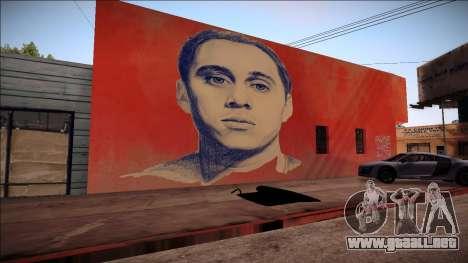 Canserbero Graffiti para GTA San Andreas