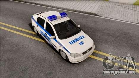 Opel Astra G Magyar Rendorseg para GTA San Andreas