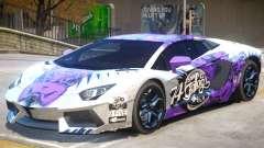 Lamborghini Aventador V1 PJ1 para GTA 4