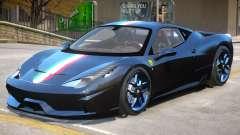 Ferrari 458 Novitec Rosso para GTA 4