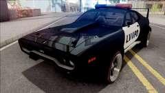 Plymouth GTX 1972 Custom Police LVPD