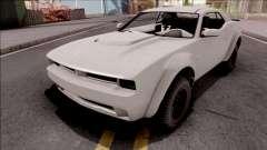GTA V Bravado Gauntlet Hellfire SA Style para GTA San Andreas