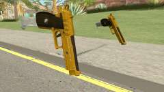 Hawk And Little Pistol GTA V (Gold) V2 para GTA San Andreas