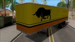 Trailer Livingston Truck Convoy para GTA San Andreas