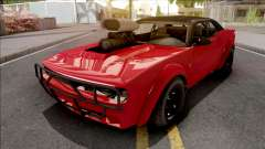 GTA V Bravado Gauntlet Hellfire Red para GTA San Andreas