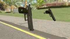Hawk And Little Pistol GTA V (Green) V2 para GTA San Andreas