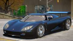 Koenigsegg CCGT para GTA 4