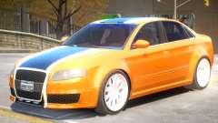 Audi RS4 V2 PJ3 para GTA 4