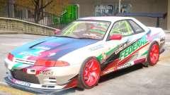 Nissan Skyline GT-R R32 V1 PJ para GTA 4