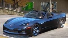 Chevrolet Corvette C6 Roadster para GTA 4