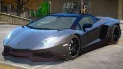Lamborghini Aventador Anniversary Roadster para GTA 4