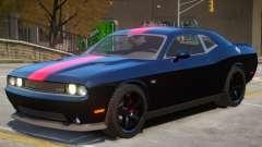 Dodge Challenger SRT V1.1 PJ3 para GTA 4