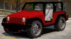 Jeep Wrangler V1 para GTA 4