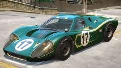 1967 Ford GT40 V1 PJ7 para GTA 4