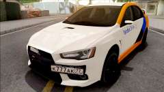 Mitsubishi Lancer Evolution 10 Yandex Drive para GTA San Andreas