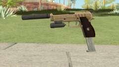 Hawk And Little Pistol GTA V (Army) V3 para GTA San Andreas