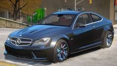 Mercedes Benz C63 V1 para GTA 4
