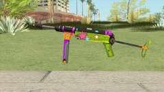 MP-40 (New Year) para GTA San Andreas