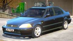 Honda Civic V1.1 para GTA 4