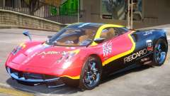 Pagani Huayra furious V1 PJ2 para GTA 4