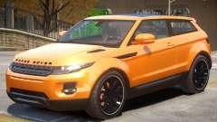 Range Rover Evoque V1 para GTA 4