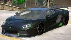Lamborghini LP760 4 Camo para GTA 4