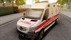 Mercedes-Benz Sprinter 2017 Turkish Ambulance